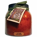 Autumn Orchards 34 oz. Papa Jar Keeper's of the Light Candle by A Cheerful Giver | Keeper's of the Light 34 oz. Papa Jar Candles by A Cheerful Giver