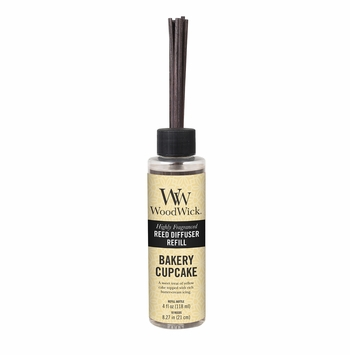 Bakery Cupcake WoodWick 4 oz. Reed Diffuser REFILL