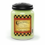CLOSEOUT - Bamboo & Linen 26 oz Large Jar Candleberry Candle | Candleberry Candle Closeouts