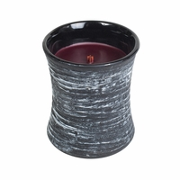 Black Cherry Black Shell Hourglass WoodWick Candle