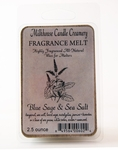 Blue Sage & Sea Salt Fragrance Melt by Milkhouse Candle Creamery | Fragrance Melts by Milkhouse Candle Creamery