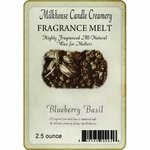 CLOSEOUT - Blueberry Basil Fragrance Melt | Milkhouse Candle Creamery Closeouts