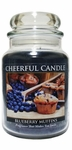 Blueberry Muffins 24 oz. Cheerful Candle by A Cheerful Giver | Cheerful Candle 24 oz. Jars by A Cheerful Giver