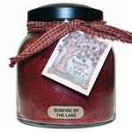 Bonfire By The Lake 34 oz. Papa Jar Keeper's of the Light Candle by A Cheerful Giver | Keeper's of the Light 34 oz. Papa Jar Candles by A Cheerful Giver