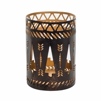 Bronze Trees Petite Holder WoodWick Candle