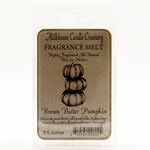 Brown Butter Pumpkin Fragrance Melt by Milkhouse Candle Creamery | Fragrance Melts by Milkhouse Candle Creamery