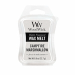 CLOSEOUT-Campfire Marshmallow WoodWick 0.8 oz. Mini Hourglass Wax Melt | Discontinued & Seasonal WoodWick Items!