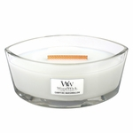 CLOSEOUT-Campfire Marshmallow WoodWick Candle 16 oz. HearthWick Flame | Discontinued & Seasonal WoodWick Items!