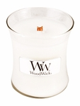 CLOSEOUT-Candy Cane Cupcake WoodWick Candle 3.4oz. | Discontinued & Seasonal WoodWick Items!