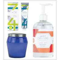 Canvas Collection Bath & Body Products by Capri Blue