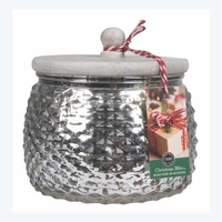 CLOSEOUT - Christmas Bliss Holiday Jar Candle - Bridgewater