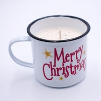 CLOSEOUT - Christmas Thyme Festive Holiday Swan Creek Medium Mug Candle