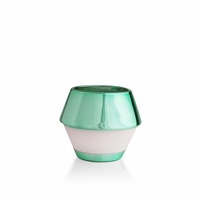 CLOSEOUT - Coastal Cedar 6.5 oz. Jade Deco Tumbler Candle by Capri Blue