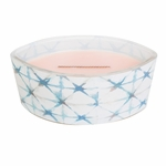 CLOSEOUT-Coastal Sunset Decal Ellipse WoodWick Candle with HearthWick Flame | Discontinued & Seasonal WoodWick Items!
