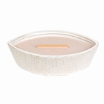 CLOSEOUT-Coastal Sunset Textured Ellipse WoodWick Candle with HearthWick Flame | Discontinued & Seasonal WoodWick Items!