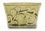 CLOSEOUT - Coconut Lime English Garden Small Square Swan Creek Candle (Color: Lime) | Swan Creek Candles Closeouts
