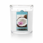 Coconut Rain 22 oz. Oval Jar Colonial Candle | 22 oz. Oval Jar Colonial Candle