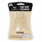 CLOSEOUT - Coconut WoodWick Car Vent Freshener | WoodWick Car Vent Fresheners