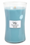 Cool Linen WoodWick ODOR NEUTRALIZING Candle 22 oz. | WoodWick Odor Neutralizing Collection