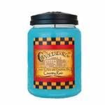 CLOSEOUT - Country Rain 26 oz. Large Jar Candleberry Candle | Candleberry Candle Closeouts