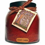 Cozy Cabin 34 oz. Papa Jar Keeper's of the Light Candle by A Cheerful Giver | Keeper's of the Light 34 oz. Papa Jar Candles by A Cheerful Giver