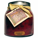 Cranberry Orange 34 oz. Papa Jar Keeper's of the Light Candle by A Cheerful Giver | Keeper's of the Light 34 oz. Papa Jar Candles by A Cheerful Giver