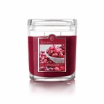 CLOSEOUT - Cranberry Spice 8 oz. Oval Jar Colonial Candle | 8 oz. Oval Jar Colonial Candle