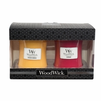 NEW! - Currant / Seaside Mimosa 10 oz. Candle 2-Pack Gift Set by WoodWick