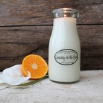 Dancing in the Rain 8 oz. Milkbottle Candle by Milkhouse Candle Creamery | 8 oz. Milkbottle Candles by Milkhouse Candle Creamery