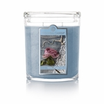 CLOSEOUT - Denim & Lace 22 oz. Oval Jar Colonial Candle | Colonial Candle Closeouts