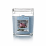 NEW! - Denim & Lace 8 oz. Oval Jar Colonial Candle | 8 oz. Oval Jar Colonial Candle