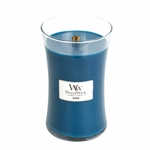 NEW! - Denim WoodWick Candle 22 oz. | Woodwick Candles 22 oz. Large Jars