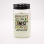 NEW! - Desert Sage & Cedarwood 24 oz. Swan Creek Kitchen Pantry Jar Candle | New Releases by Swan Creek Candle