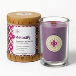 Detoxify (Spearmint & Tea Tree Oil) Seeking Balance 6.5 oz. Candle by Root | Seeking Balance Spa Candles by Root