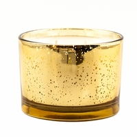 Diva 16 oz. Stature Gold on Gold Reflective Tyler Candle