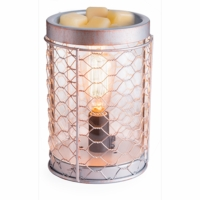 NEW! - Edison Bulb Chicken Wire Illumination Fragrance Warmer