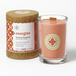 Energize (Rosemary Eucalyptus) Seeking Balance 6.5 oz. Candle by Root | Seeking Balance Spa Candles by Root