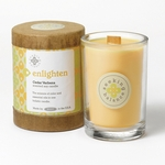 Enlighten (Cedar Verbena) Seeking Balance 6.5 oz. Candle by Root | Seeking Balance Spa Candles by Root