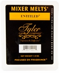Entitled Tyler Mixer Melt | Wax Mixer Melts by Tyler Candle Company