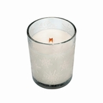 CLOSEOUT-Etched Tumbler Mint Truffle WoodWick Candle | Discontinued & Seasonal WoodWick Items!