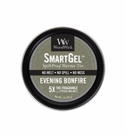 CLOSEOUT - Evening Bonfire Smart Gel Spill-Proof Warmer Tin by WoodWick Candle | Discontinued & Seasonal WoodWick Items!