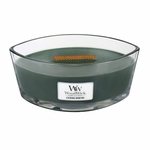 Evening Bonfire WoodWick Candle 16 oz. HearthWick Flame | HearthWick Ellipse Glass Candles