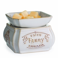 NEW! - Faith, Family, Friends 2-in-1 Classic Fragrance Warmer