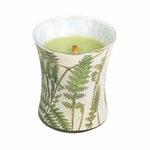 CLOSEOUT-Fern Decal Hourglass WoodWick Candle | Discontinued & Seasonal WoodWick Items!