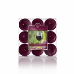 Fine Merlot 9-Pack Tealights Colonial Candle | 9-Pack Tealight Colonial Candle