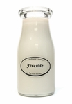 Fireside 8 oz. Milkbottle Candle by Milkhouse Candle Creamery | 8 oz. Milkbottle Candles by Milkhouse Candle Creamery