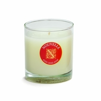 CLOSEOUT - Fireside Holiday Large Signature Glass 11 oz. Nouvelle Candle