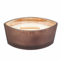 NEW! - Fireside Ombre Ellipse WoodWick Candle