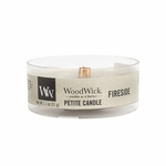 Fireside Petite WoodWick Candle | WoodWick Fragrance Of The Month