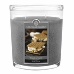 CLOSEOUT - Fireside S'mores 22 oz. Oval Jar Colonial Candle | Colonial Candle Closeouts